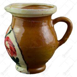 Cana pentru lapte realizata din ceramica