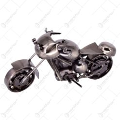 Decoratiune realizata din metal - Motocicleta (Model 3) - Diverse modele