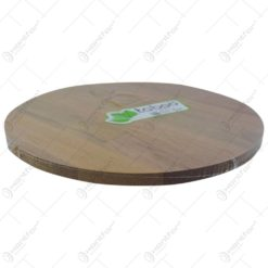 Platou/tocator rotativ realizat din lemn (Model 2)