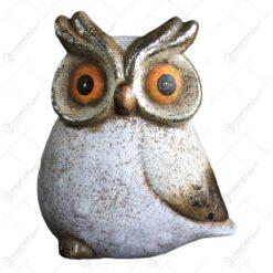 Figurina realizata din ceramica - Design Bufnita