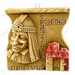 Aplica din gips in forma de patrat - Dracula - Bran - Romania