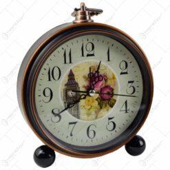 Ceas de masa rotund - Design floral - Diverse modele (Model 2)