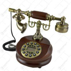 Telefon antic realizat din lemn (Model 3) - 2 modele