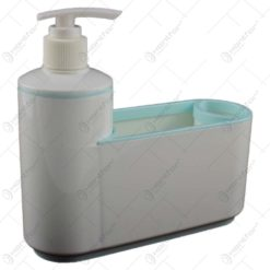 Dozator pentru sapun lichid cu organizator - Diverse culori