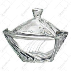 Bomboniera realizata din sticla (Model 1)