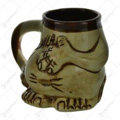 Cana haioasa realizata din ceramica