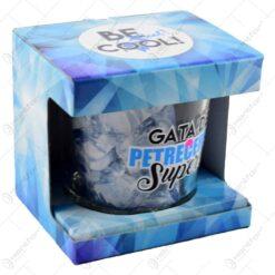 Frapiera gheata din sticla in cutie decorativa - Gata de petrecere? Super!