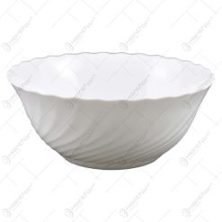 Salatiera realizata din sticla opal - Design Elegant