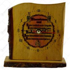 Ceas pe scandura ondulata si cu talpa de lemn - Castelul Peles