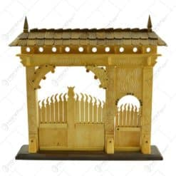 Poarta secuiasca sculptata din lemn (Model 1)