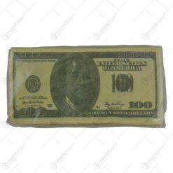 Servetele nazale realizate din hartie - Design 100 Dolari