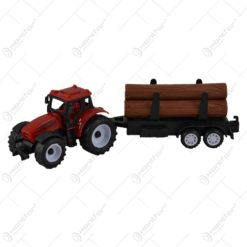 Jucarie realizata din plastic - Tractor cu busteni