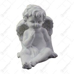 Figurina decorativa realizata din rasina - Ingeras - Diverse modele (Model 1)