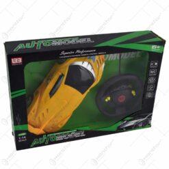 Masina sport cu telecomanda tip volan - Diverse culori
