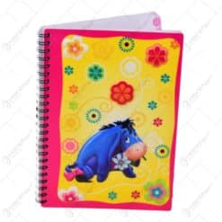 Notes spiralat Disney cu luminite- Winnie the Pooh
