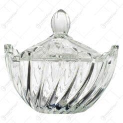 Bomboniera realizata din sticla