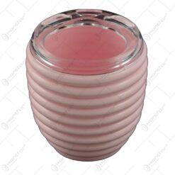Suport baie realizat din plastic pentru periuta de dinti - Diverse culori