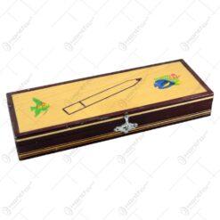 Penar din lemn pictat manual in diferite tipuri
