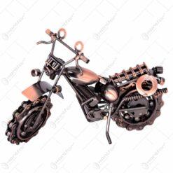 Decoratiune realizata din metal - Motocicleta (Model 4) - Diverse modele