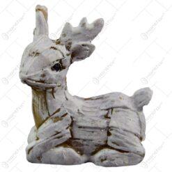 Figurina decorativa realizata din ceramica - Ren - 2 modele (Model 1)