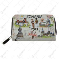 Portofel realizat din material textil - Design Traditional - Romania - 2 modele