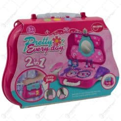 Set jucarie pentru fetite - Gentuta cu accesorii cosmetice