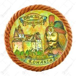 Aplica ipsos rotund vopsit 16 CM - Romania