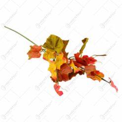 Frunze de toamna realizate din matase - 2 culori (Model 2)