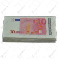 Servetele nazale realizate din hartie - Design 10 Euro
