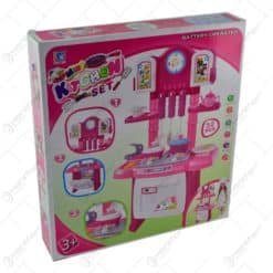Bucatarie pentru copii cu accesorii si lumini