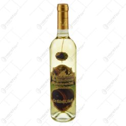"Vin alb 0.75l cu eticheta personalizata din pluta - Design ""Un ocean de sanatate..."""