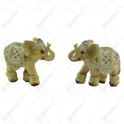 Figurina realizata din rasina in forma de elefant - 2 modele (Model 5)
