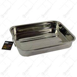 Tava realizata din otel inoxidabil pentru cuptor (Model 1)