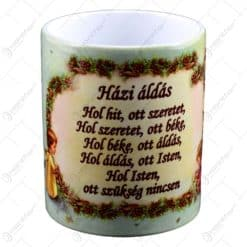 "Cana realizata din ceramica - ""Hazi Aldas"" (Binecuvantarea casei) - Diferite modele"