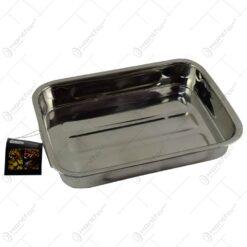 Tava realizata din otel inoxidabil pentru cuptor (Model 2)