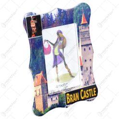 Rama foto din ceramica - Dim. poza 10x15 cm - Design Castelul Bran