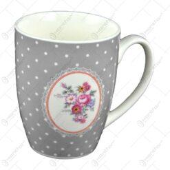 Cana realizata din ceramica - Design Dots & Flowers