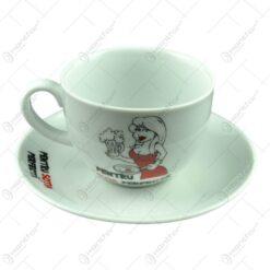 Ceasca cu farfurie - Pentru sotia perfecta - Funny Mug