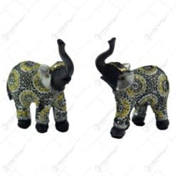 Figurina realizata din rasina in forma de elefant - 2 modele (Model 7)