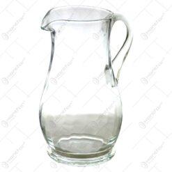 Cana din sticla cu maner. groasa la talpa - Mare