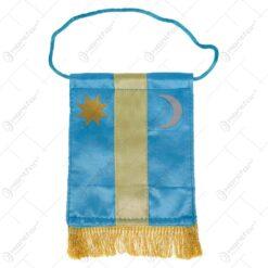 Steag mic cu franjuri - Model Tinutul Secuiesc