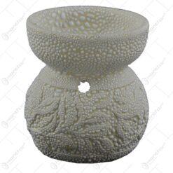 Candela pentru aromaterapie realizata din ceramica (8cm) - Diverse modele si culori