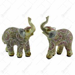 Figurina realizata din rasina in forma de elefant - 2 modele (Model 8)