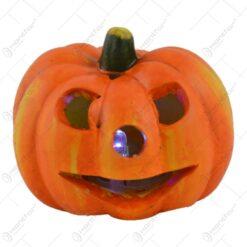 Dovleac cu led realizat din ceramica - Design Halloween