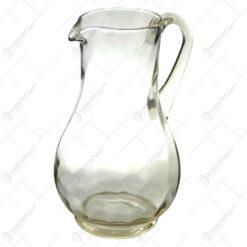 Cana din sticla cu maner. groasa la talpa - Mijlocie