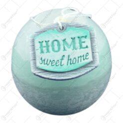 Lumanare parfumata in forma de glob - Design Home Sweet Home