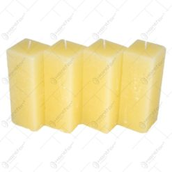 Lumanare inalta in forma de cub (Model 1)
