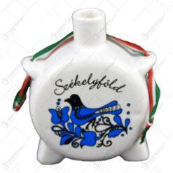 Plosca realizata din ceramica - Design Szekelyfold - Diferite modele - Mic