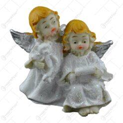 Figurina decorativa realizata din rasina - Pereche de ingeri (Diverse modele)