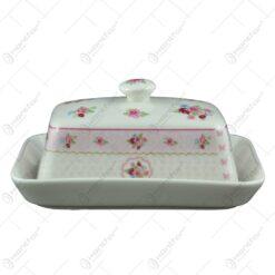 Untiera realizata din ceramica - Design floral